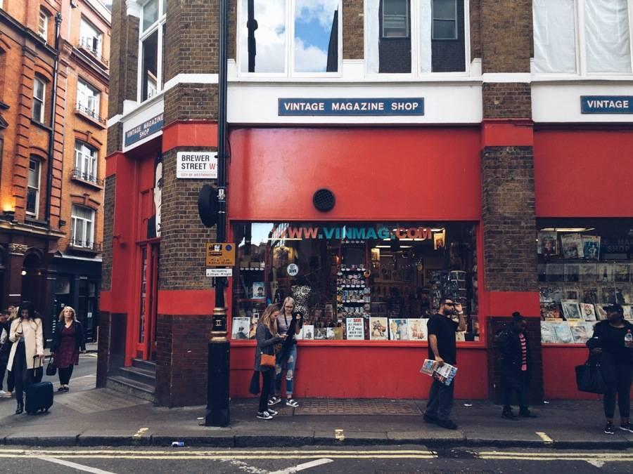 Vintage Magazine Shop – The trip to the past