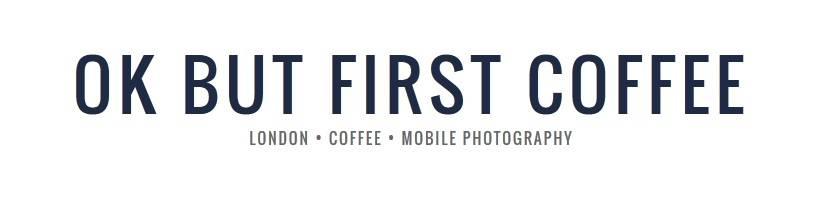 ok but first coffee newsletter header
