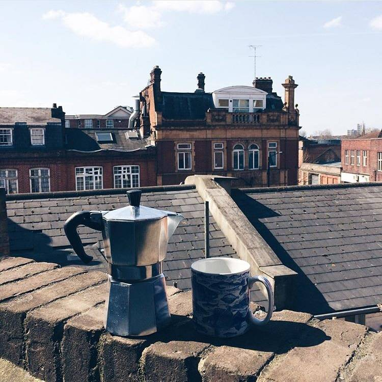 10 ideas for street photo in London - Ok But First Coffee - London from above