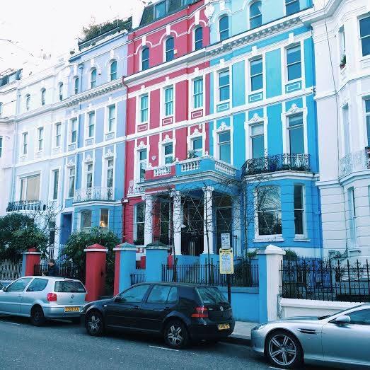 Colville Terrace – Ladbroke Grove and Notting Hill Gate tube