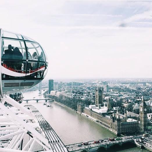 London Eye – SE1 7PB, Waterloo tube station