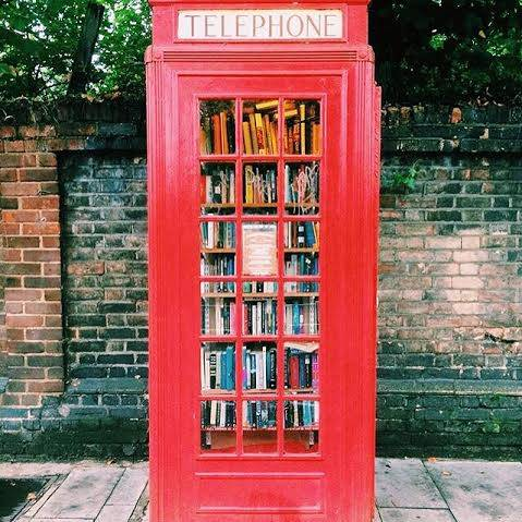 Micro Library in a booth – Corner of Lewisham Way and Tyrwhitt Road 2
