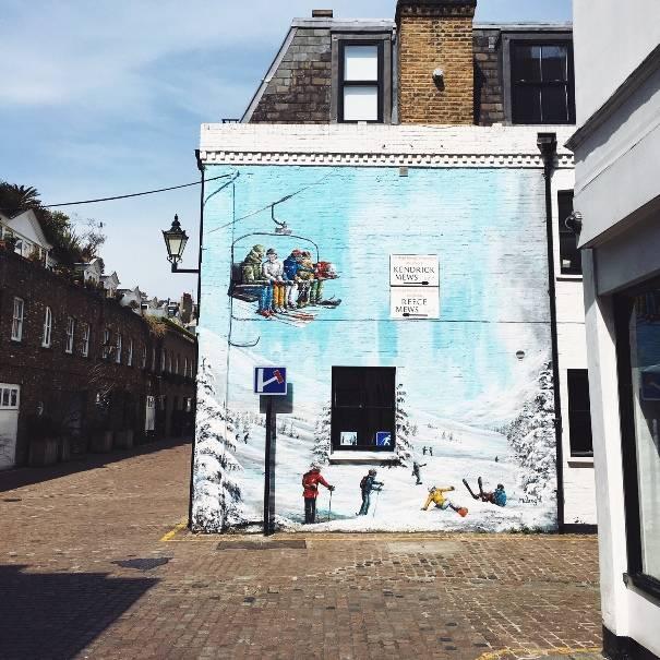 Reece Mews – South Kensington tube