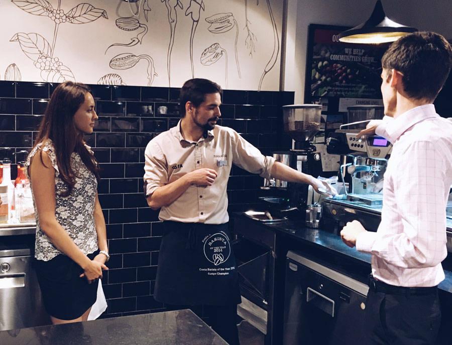 costa coffee london ok but first coffee katya jackson