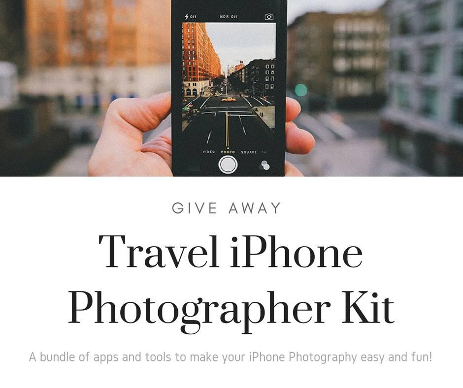 Travel iPhone Photographer Kit Give Away