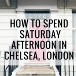 What to do in Chelsea London Ok But First Coffee