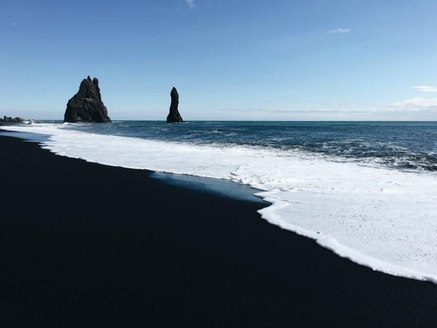 What to do in Iceland - Black-sand-beach-Iceland
