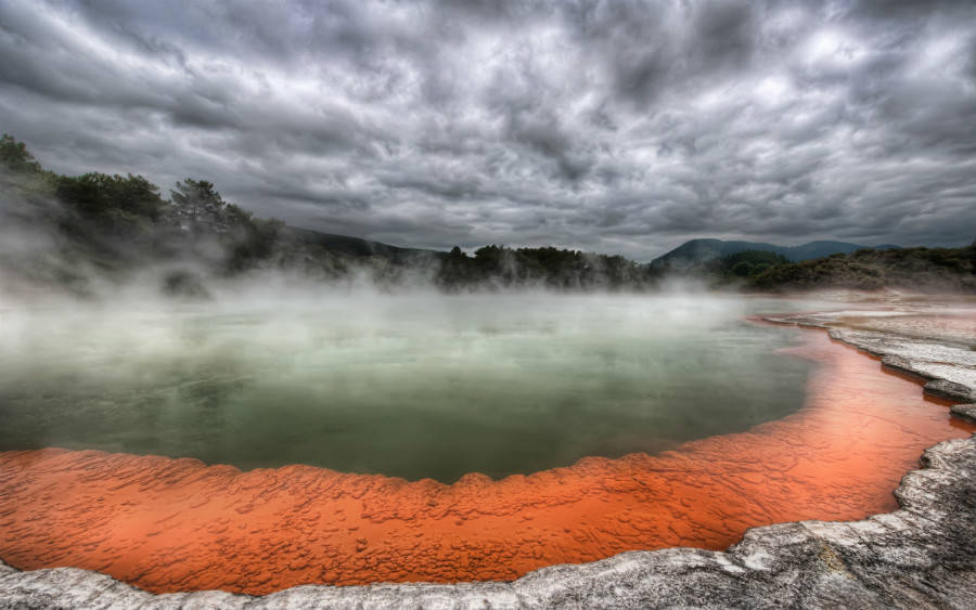 Things to do in New Zealand North Island Wai-O-Tapu Thermal Wonderland