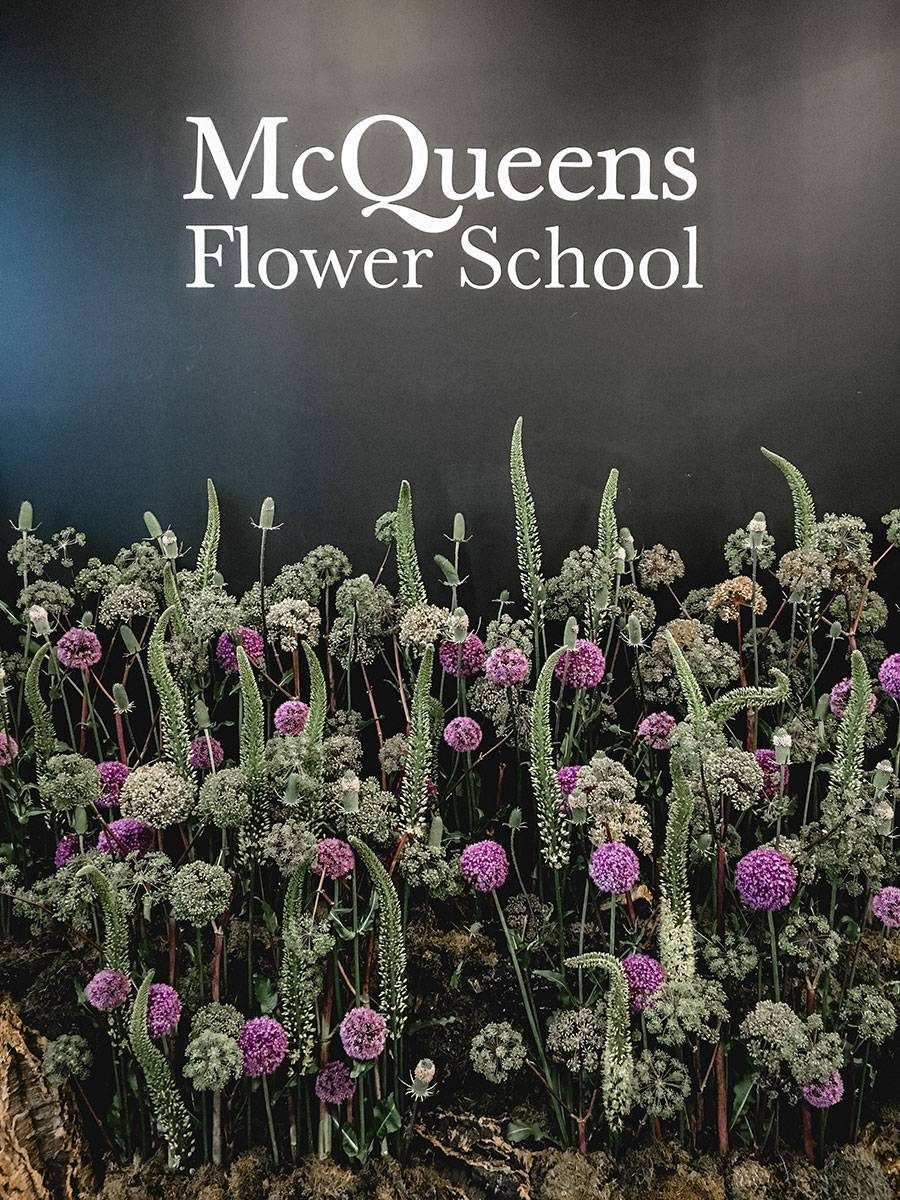 mcqueens flower school london