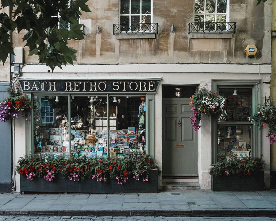 Bath Retro Store, Pretty Towns Uk, London One Day trip, Bath, Bath England, Somerset England, Katya Jackson
