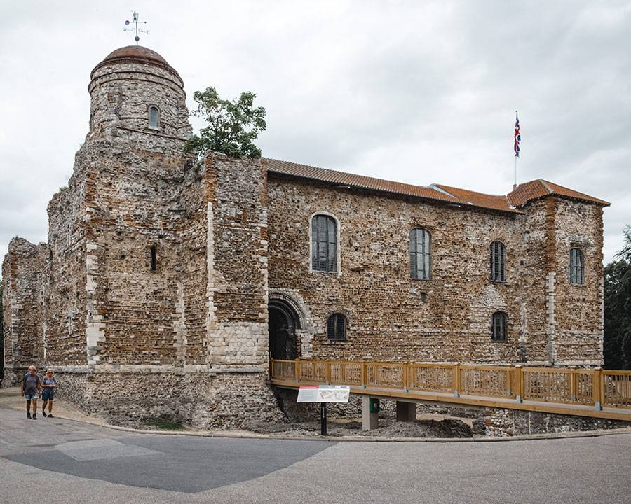 Colchester Castle, Colchester, Essex, Day trip from London, what to see in Essex, Pretty towns UK, England travel, Travel inspiration, Katya Jackson blog
