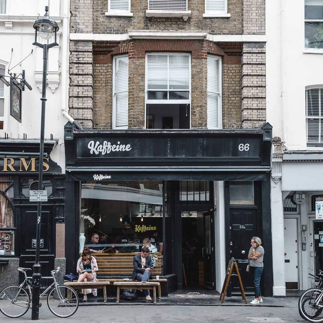 London Coffee shops