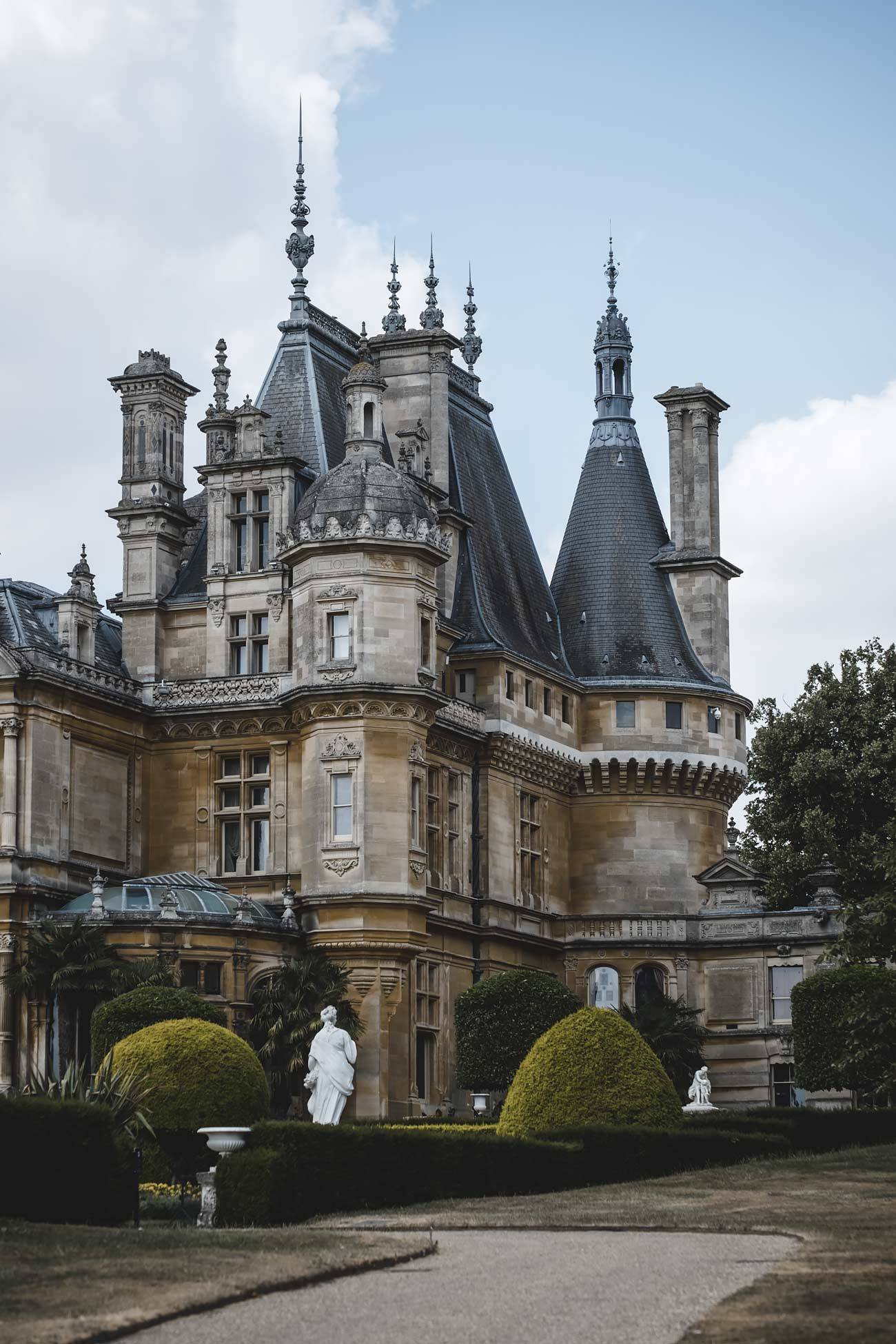 Beautiful Manor house in England, England Travel, Waddesdon-Manor-estate-England-National-Trust-property-beautiful-houses-of-England-London-blog-Katya-jackson