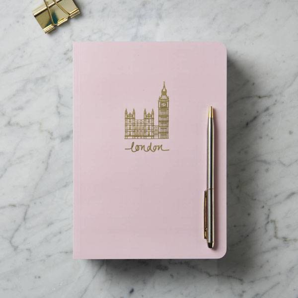 london themed gifts and london souvenirs katya jackson blog london notebook